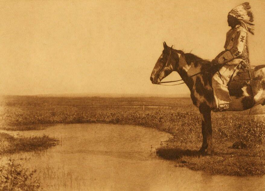 American Indians : A Blood Horseman.