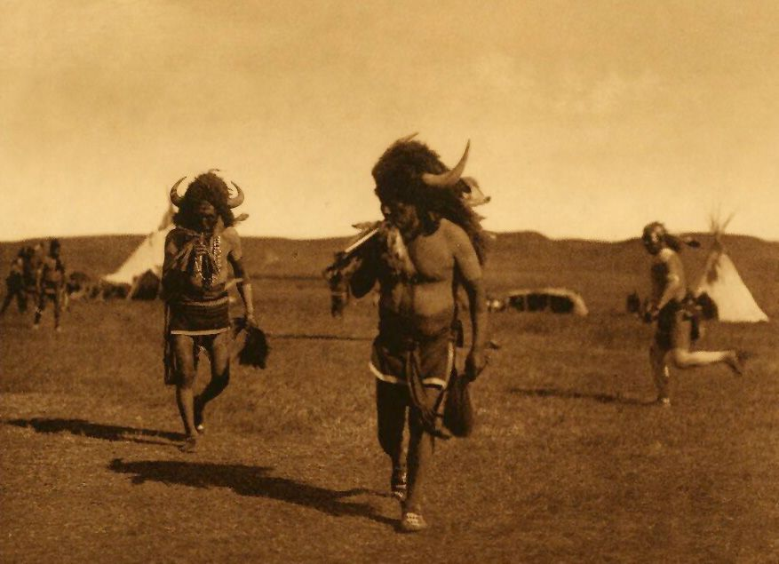 American Indians : Arikara Medicine Ceremony - The Buffalo.