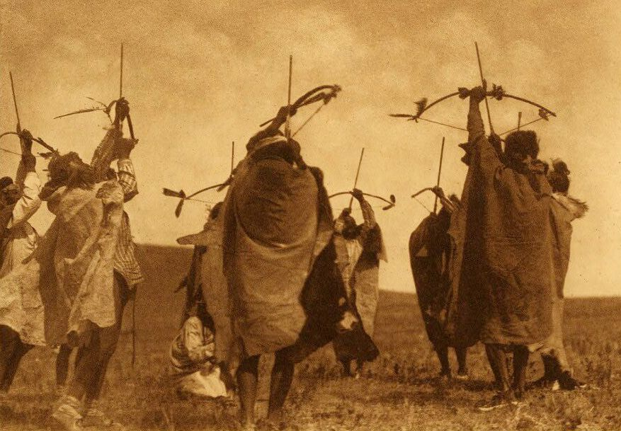American Indians : Atsina Crazy Dance The Flight of Arrows.