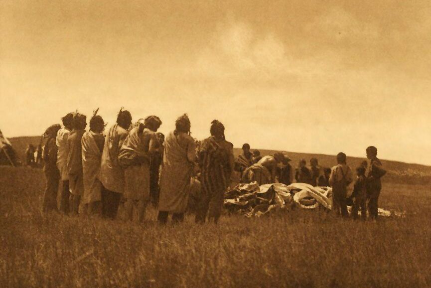 American Indians : Blessing the Children - Arikara.