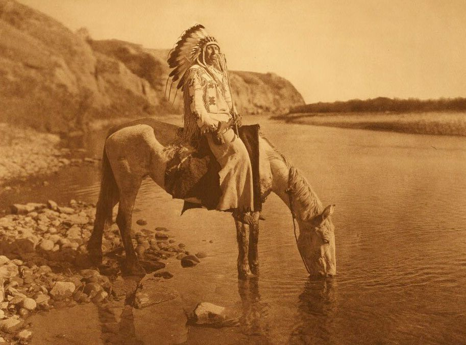 American Indians : Bow River - Blackfoot.