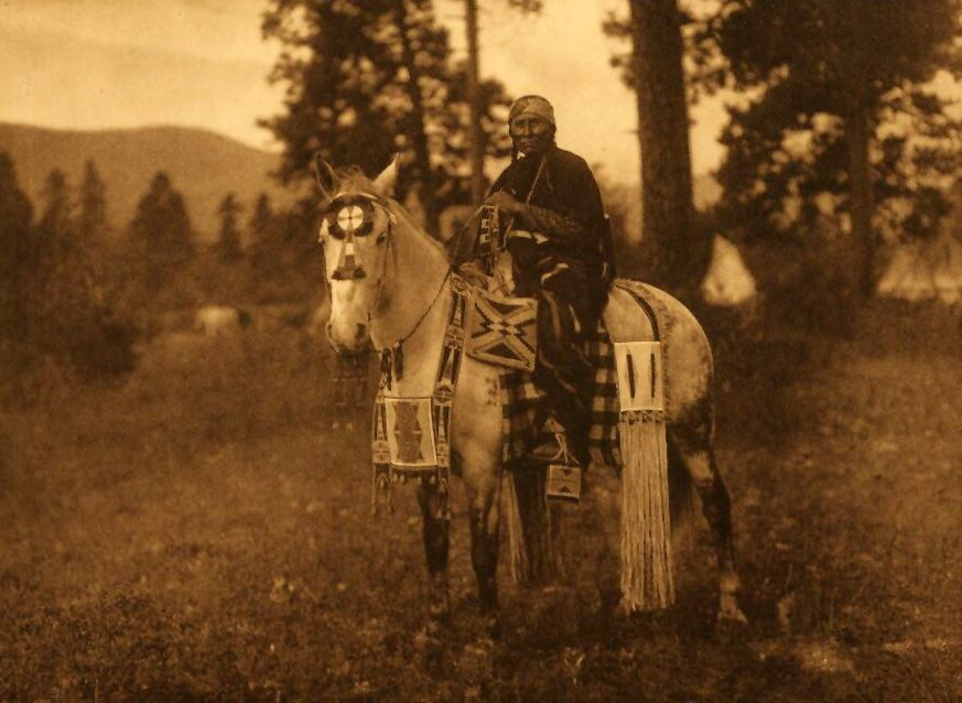American Indians : Flathead Horse Trappings.