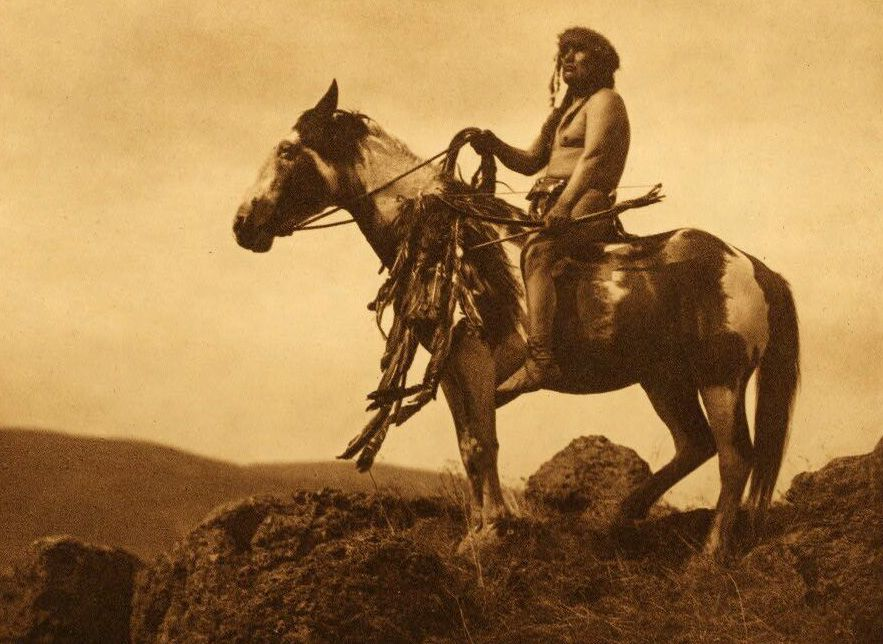 Nez Perce Warrior.