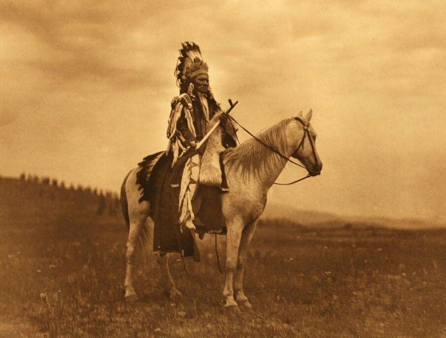 Nez Perce War Chief.