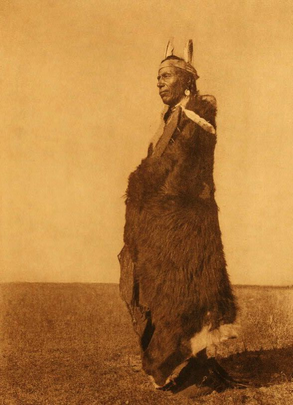 American Indians : A Blackfoot Soldier.