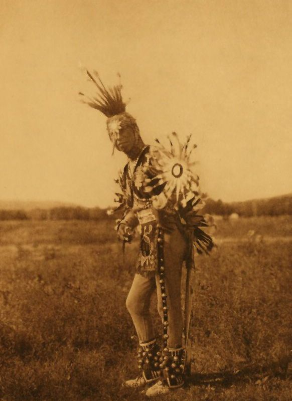 American Indians : A Ponca Dancer.