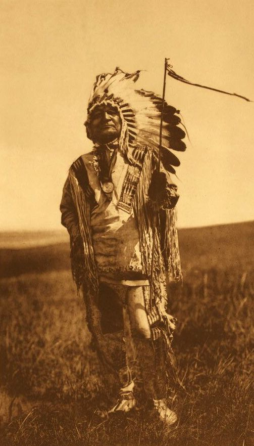 American Indians : Arikara Chief.