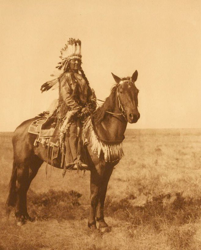 American Indians : Black Man - Arapaho.