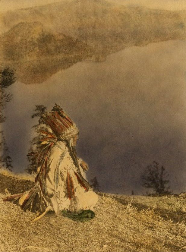 American Indians : Day Dreams - Crater Lake.