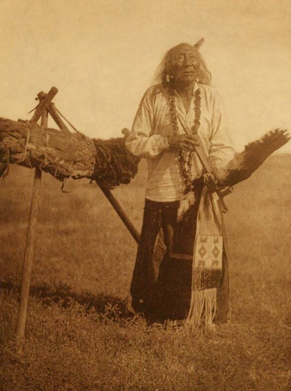 American Indians : Elk Head and the Sacred Pipe Bundle.