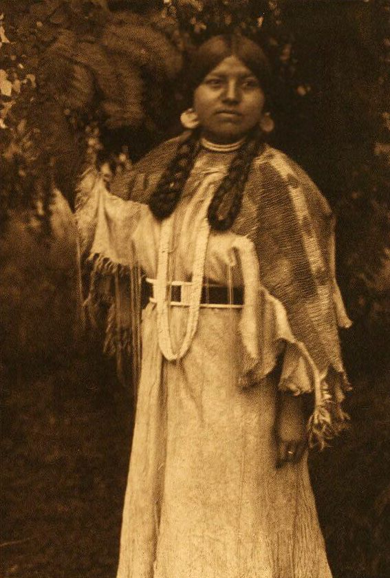 American Indians : In the Forest - Cayuse.