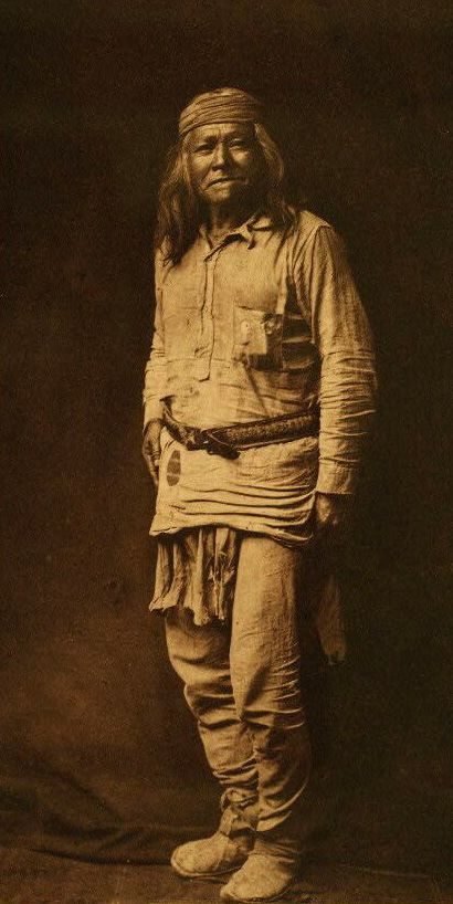 American Indians : Typical Apache.