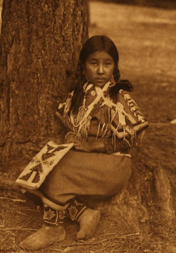 American Indians : Umatilla Child.