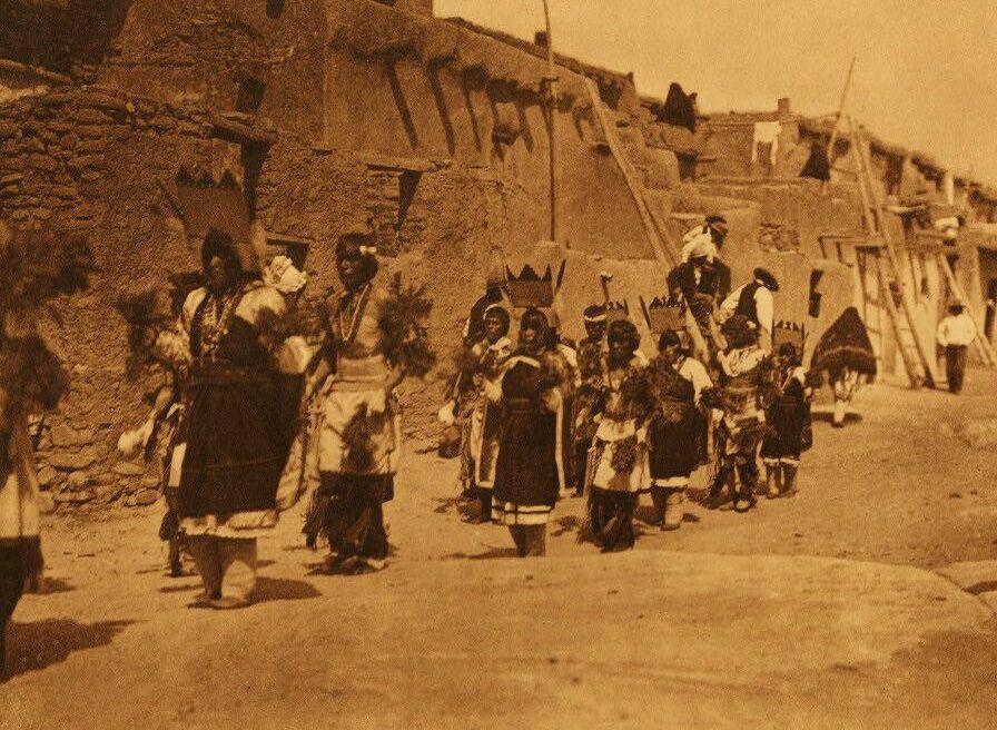 A Photograph of Acoma Fiesta