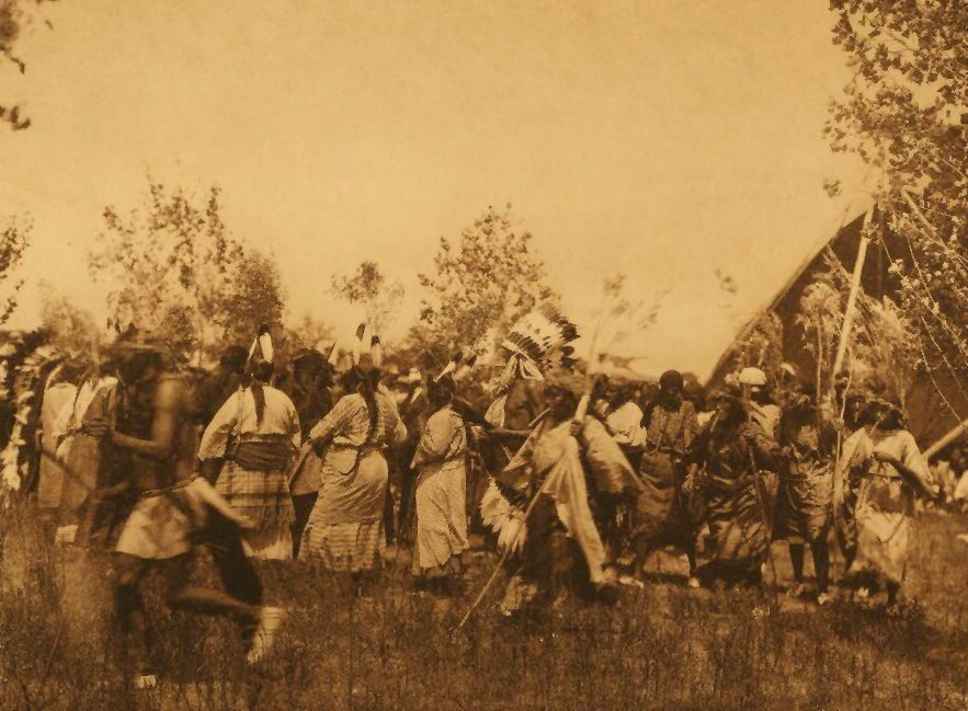 A Photograph of the Deer Society Animal Dance [Cheyenne].