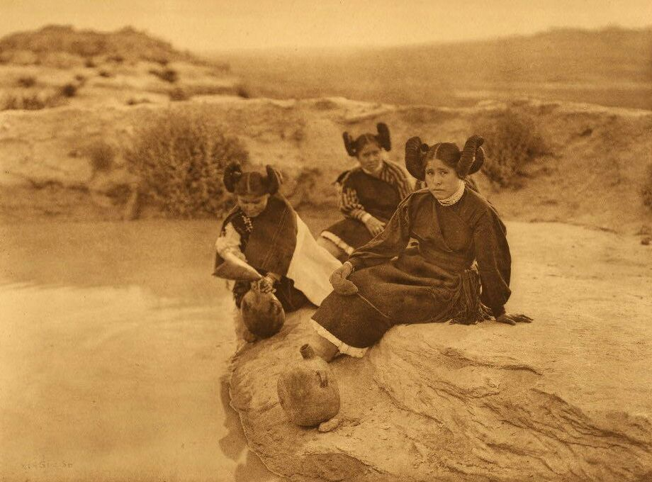 A Photograph of An Evening in Hopi Land.