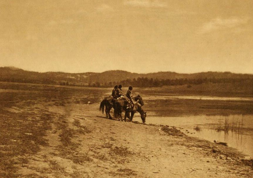 A Photograph of Lake Lajara [Navaho].