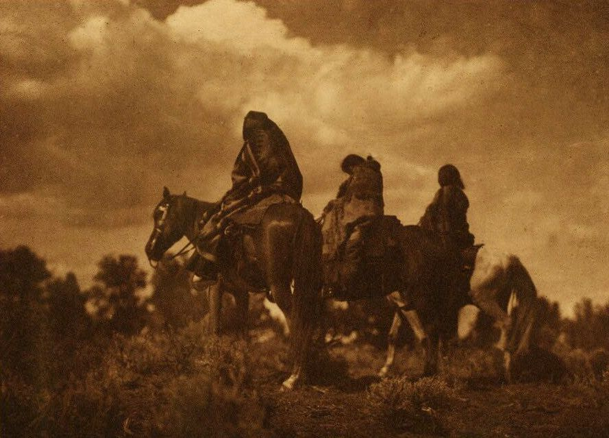A Photograph of Navaho Women.