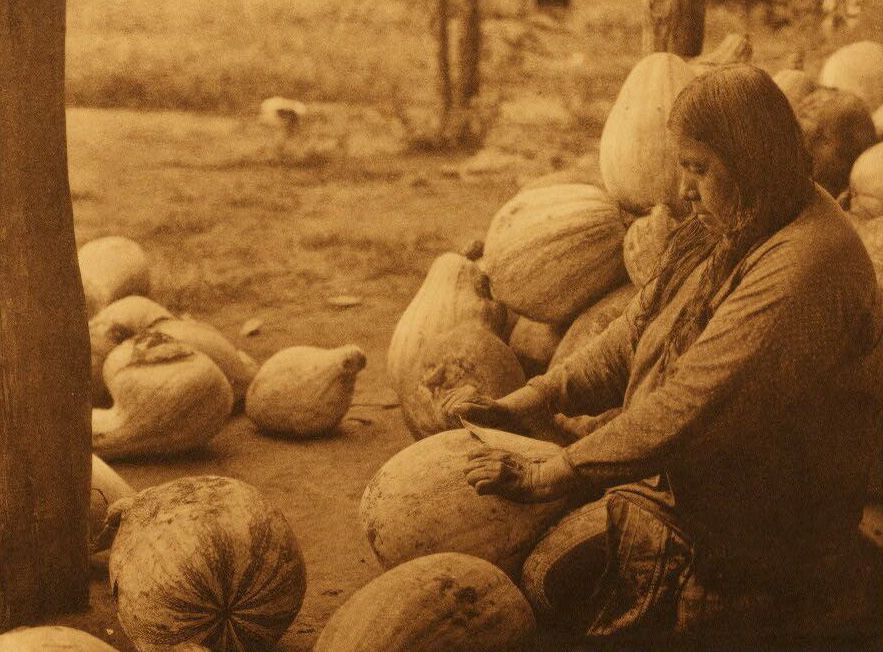 Peeling Pumpkins - Wichita.