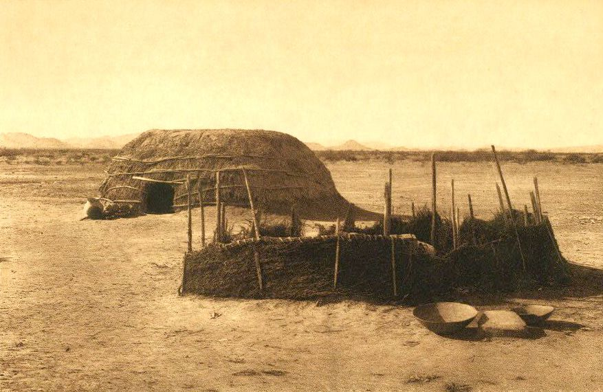 A Photograph of A Qahatika Home.