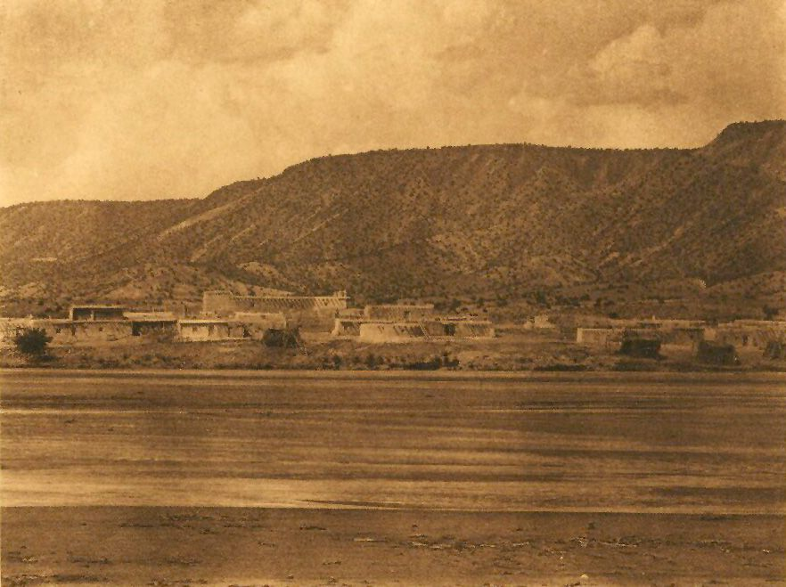 A Photograph of Santa Ana and Jemez River.