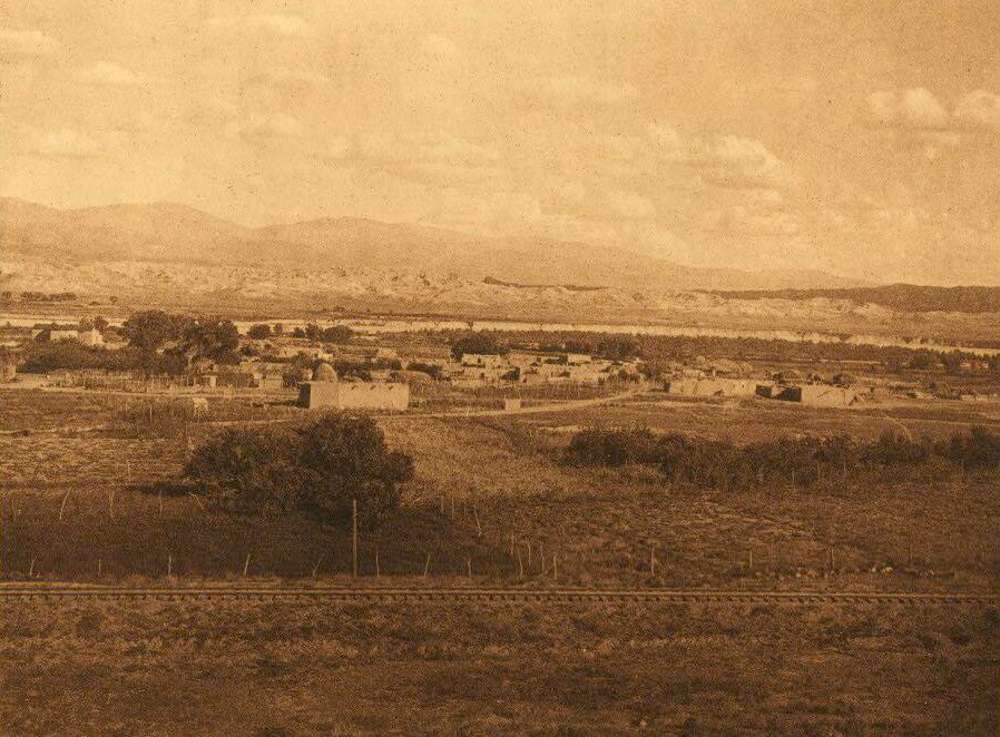 A Photograph of Santa Clara and The Rio Grande.