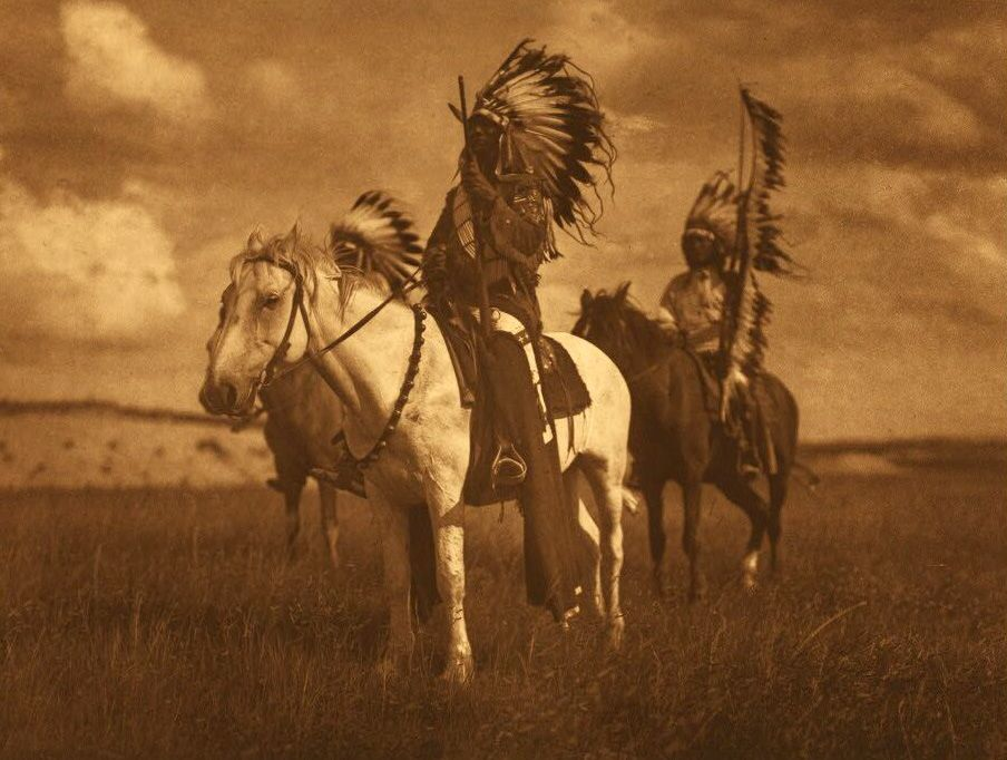 A Photograph of Sioux Chiefs.