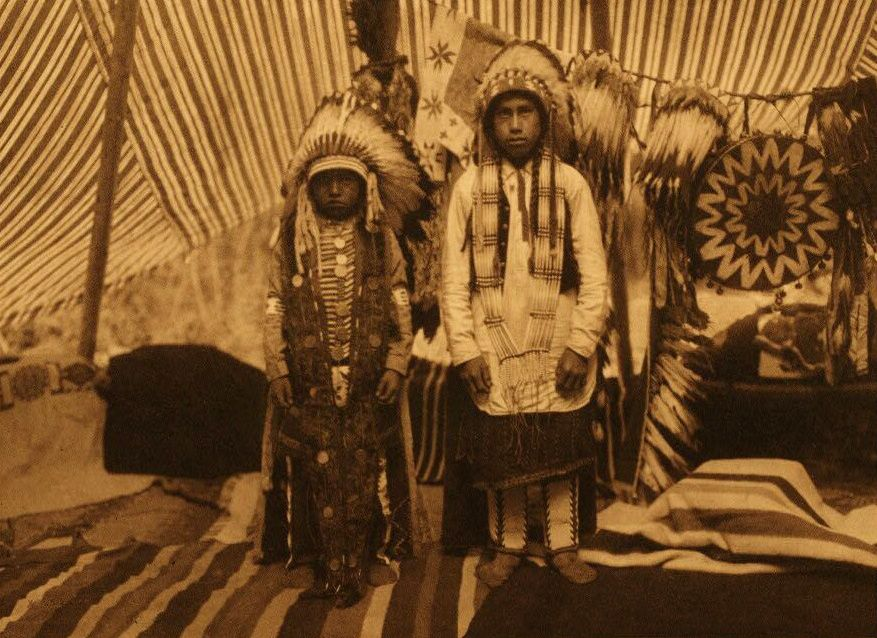 A Photograph of the Sons of a Yakima Chief.