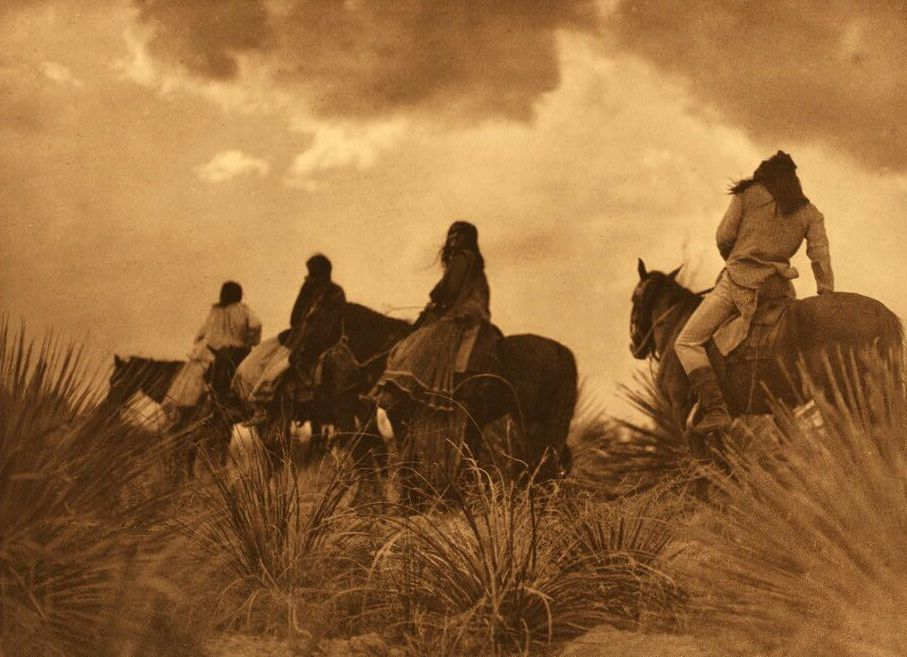 A Photograph of Apache Indians.