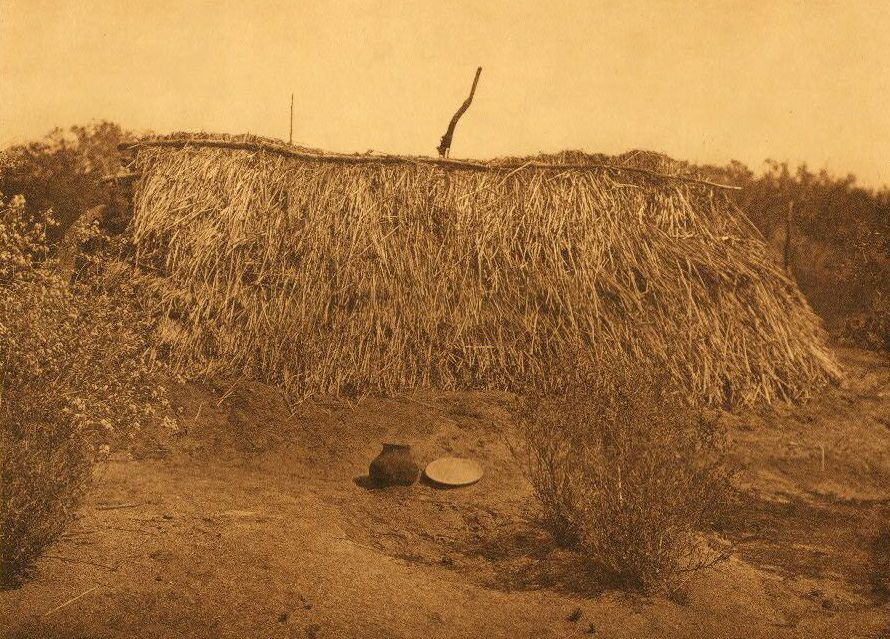 A Photograph of A Summer Shelter at Campo Diegueno.