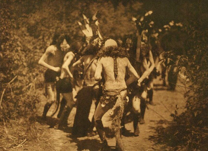 A Photograph of Yebichai Dancers [Navaho].