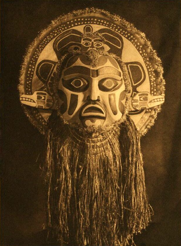 Nootka Dancing Mask.