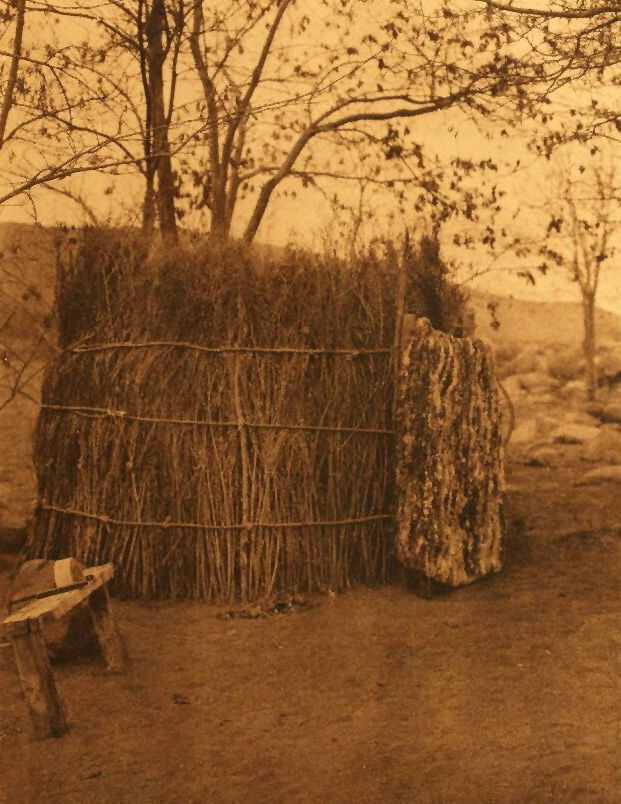 A Photograph of a Mono Summer Shelter.