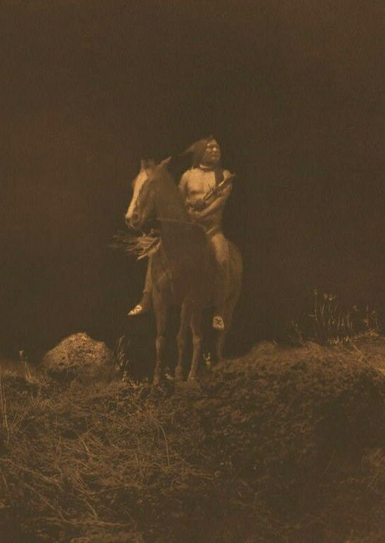 A Photograph of a Nez Perce Night Scout.