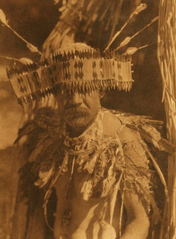 A Photograph of A Pomo Dance Costume.