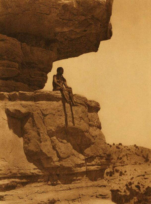 A Photograph of a Cliff Dweller.