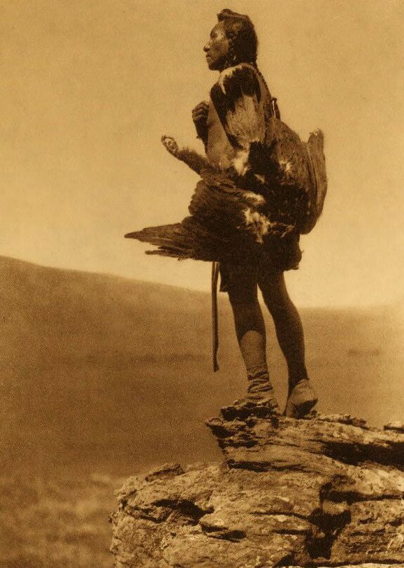 A Photograph of an Eagle Catcher.