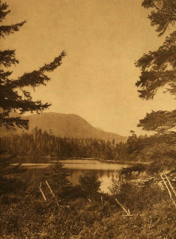 A Photograph of The Lake at Nootka.