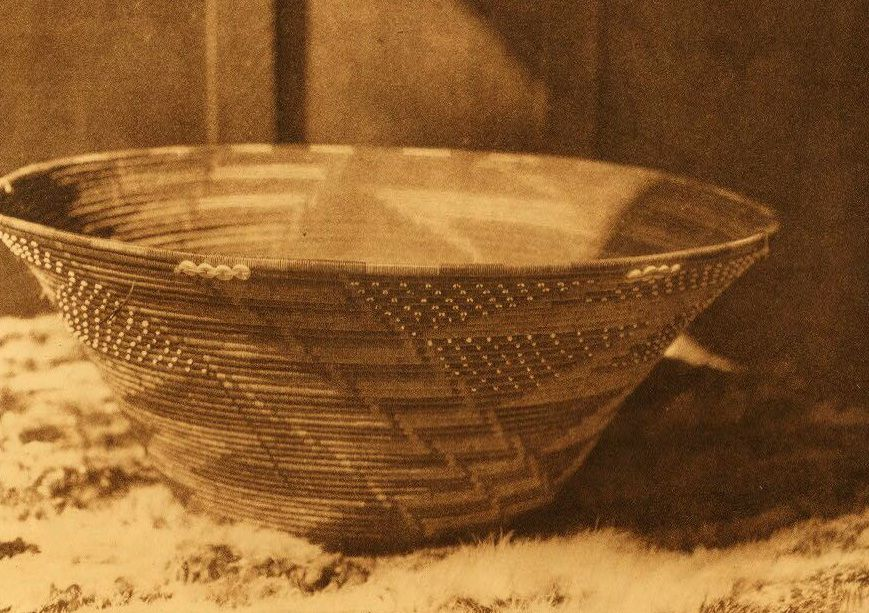 Pomo Basket used in Puberty Rites.