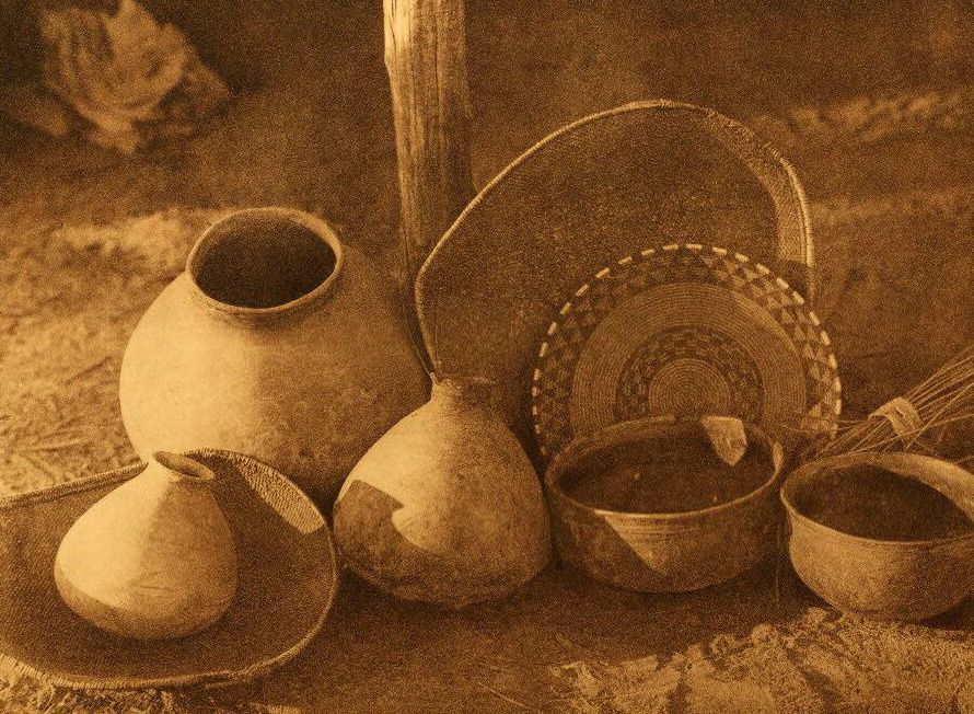 Chemehuevi Basketry and Pottery.