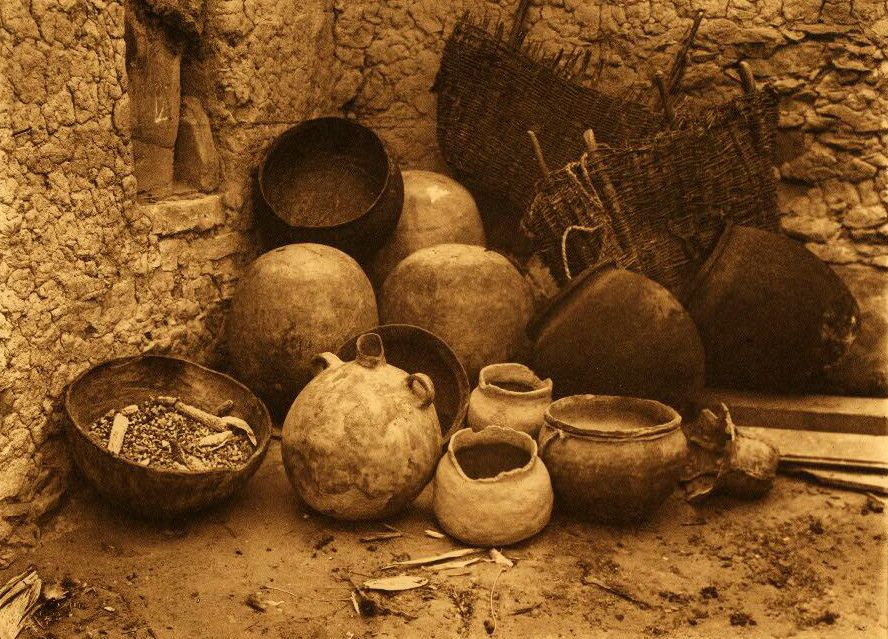 American Indian Pottery and Basketry : Household Utensils.