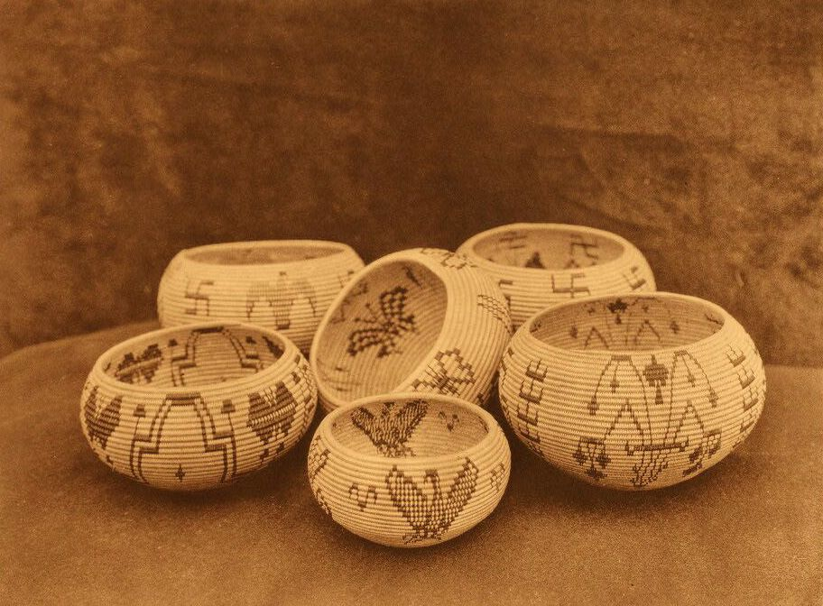American Indian Pottery and Basketry : Modern Designs in Washo Basketry.