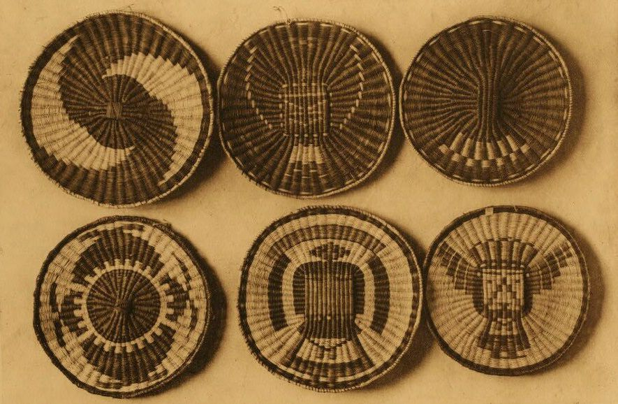 American Indian Pottery and Basketry : Oraibi Plaques.
