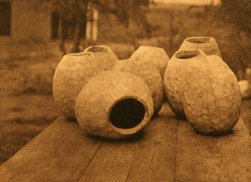 American Indian Pottery and Basketry : Peeled Squash.
