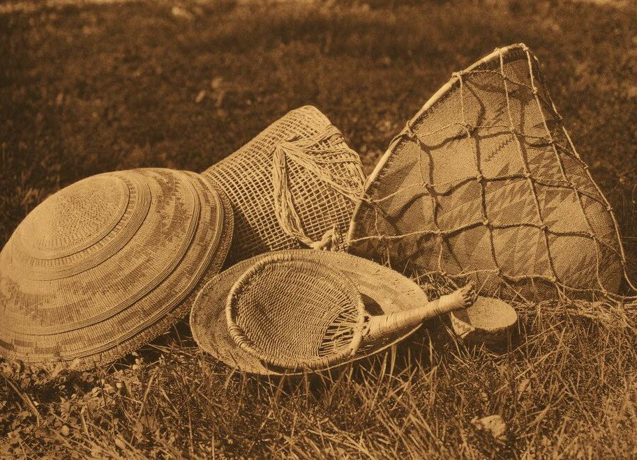 American Indian Pottery and Basketry : Pomo Seed Gathering Utensils.