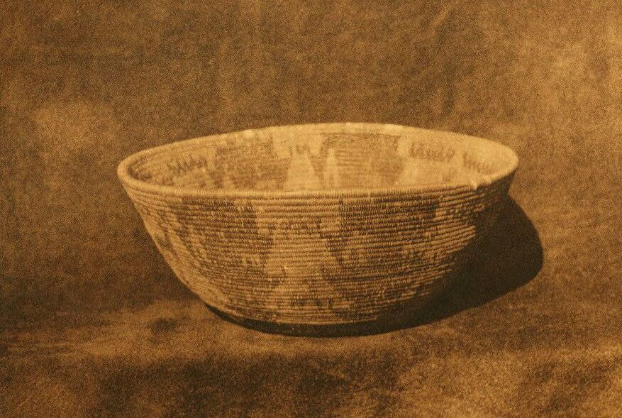 American Indian Pottery and Basketry : The Hunting Basket.