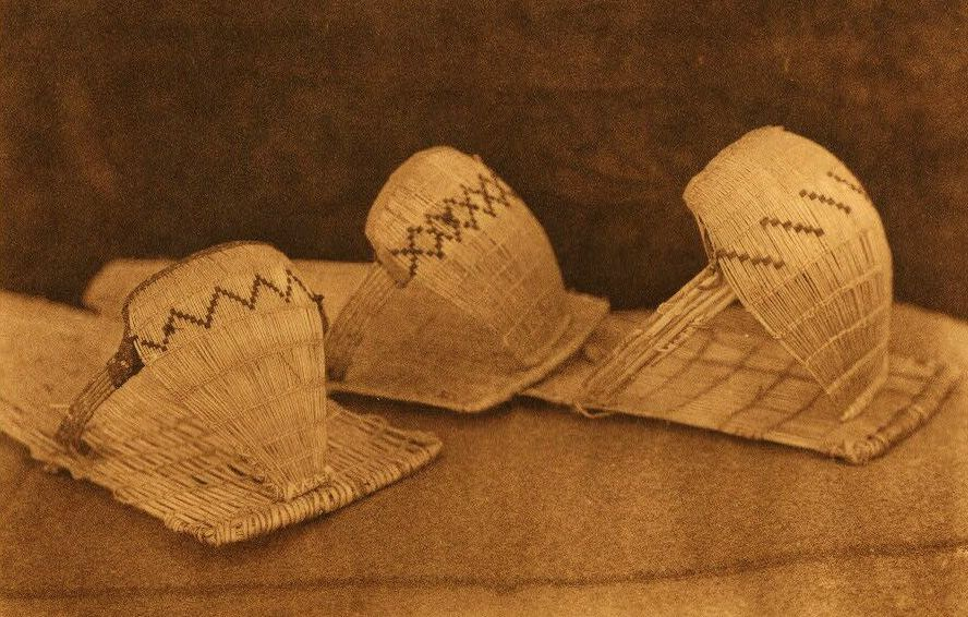 American Indian Pottery and Basketry : Washo Cradle Baskets.