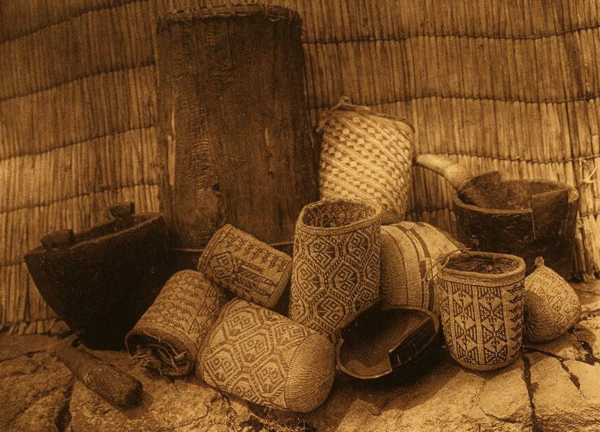 Handicraft Basketry : American indian pottery and basketry wishham handicraft