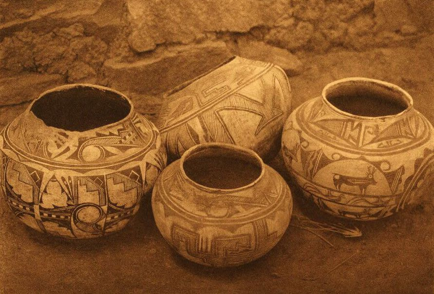 American Indian Pottery and Basketry : Zuni Pottery.
