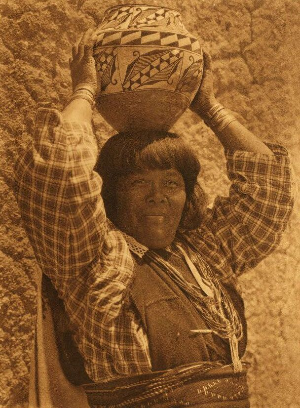 American Indian Pottery and Basketry : Kayati - Sia.